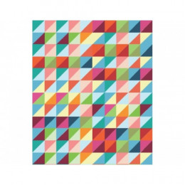 Papel de Parede Geométrico Colorido